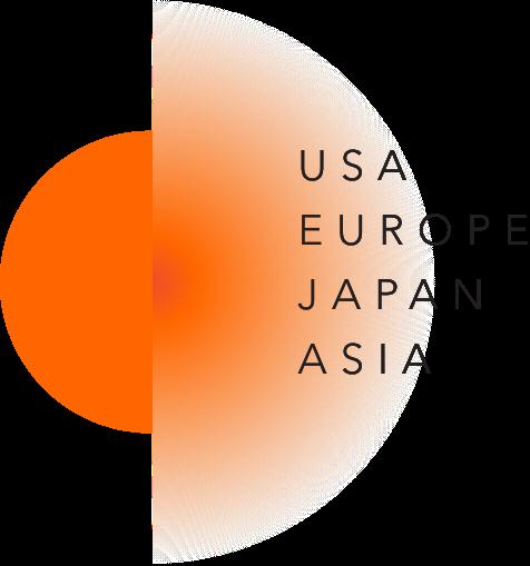 USA EUROPE JAPAN ASIA